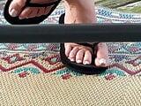 My sister beautiful feet