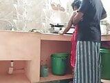 Bhabhi fucked in the kitchen