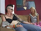 51 lesbian domination by girl with tattoos and hard pussy