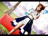 Touhou MMD – Oni girl Suika Ibuki
