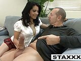 Sexy Latina Andrea Kelly gets pumped by older guy