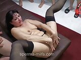 Insatiable Man And Cum Eating Jizz Milf Angie – 10913