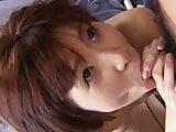 Peach Kawai is a sexy Asian with short hair