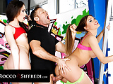 Rocco Siffredi Shows Off His Anal Exercise Expertise